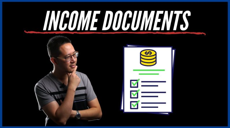 Income Documents Needed for Mortgage Applications
