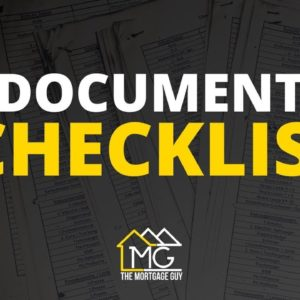 Mortgage Documents REQUIRED To Get Pre Approved | Mortgage Document Checklist For Buying A House