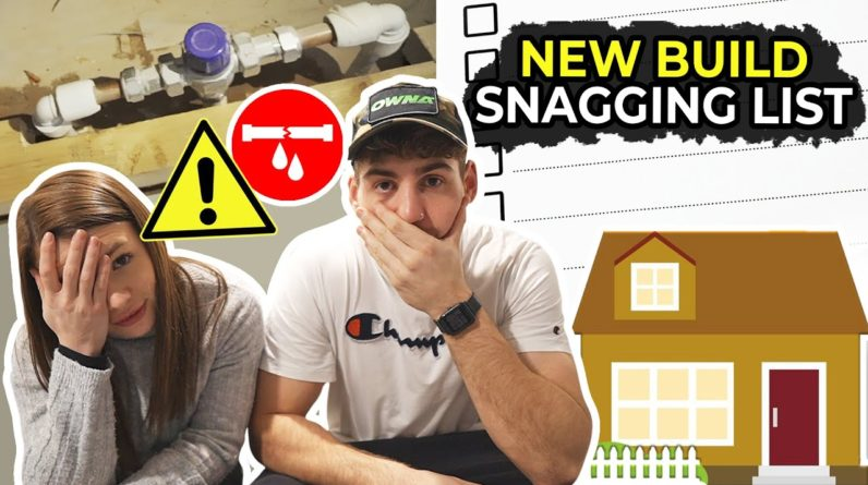 What to look out for when buying a new build house | Our Snagging list